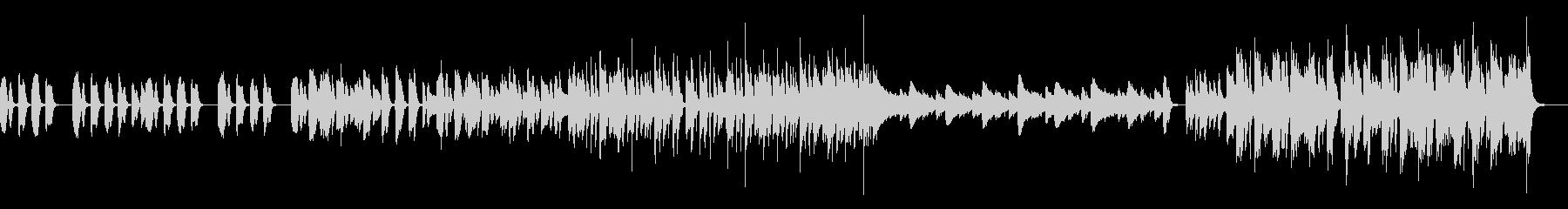 汎用性のある日常系のBGMの未再生の波形
