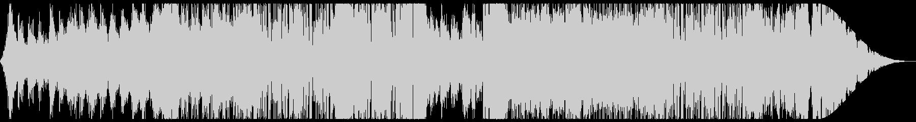 レトロなテクノ・Synthwave:フルの未再生の波形