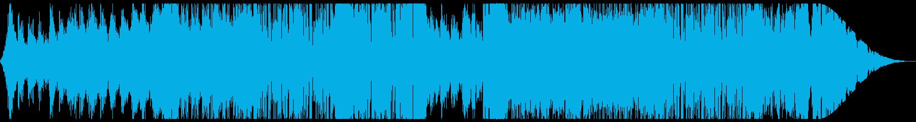 レトロなテクノ・Synthwave:フルの再生済みの波形