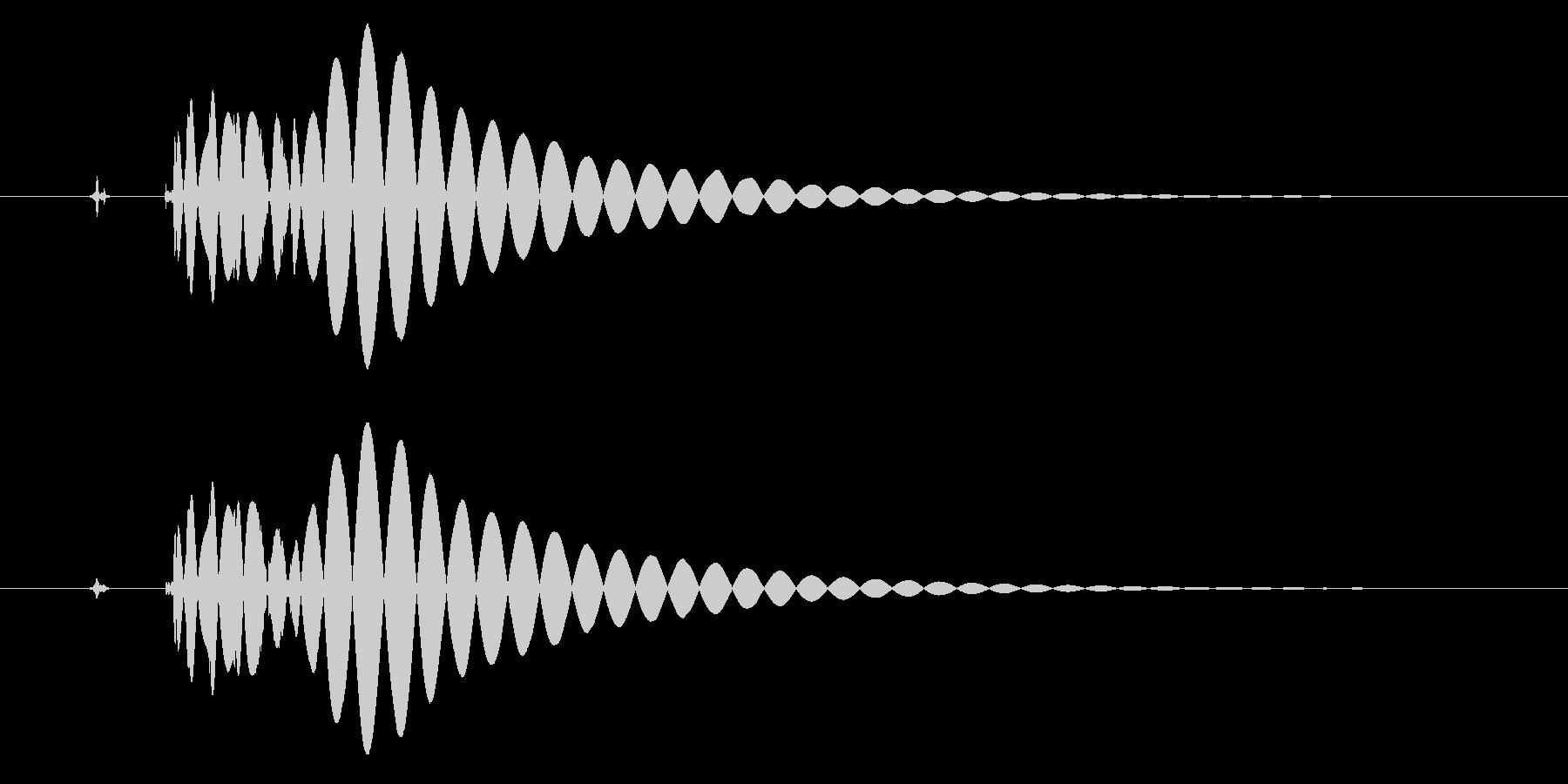EDM/IDM系の埋もれないバスドラ3cの未再生の波形