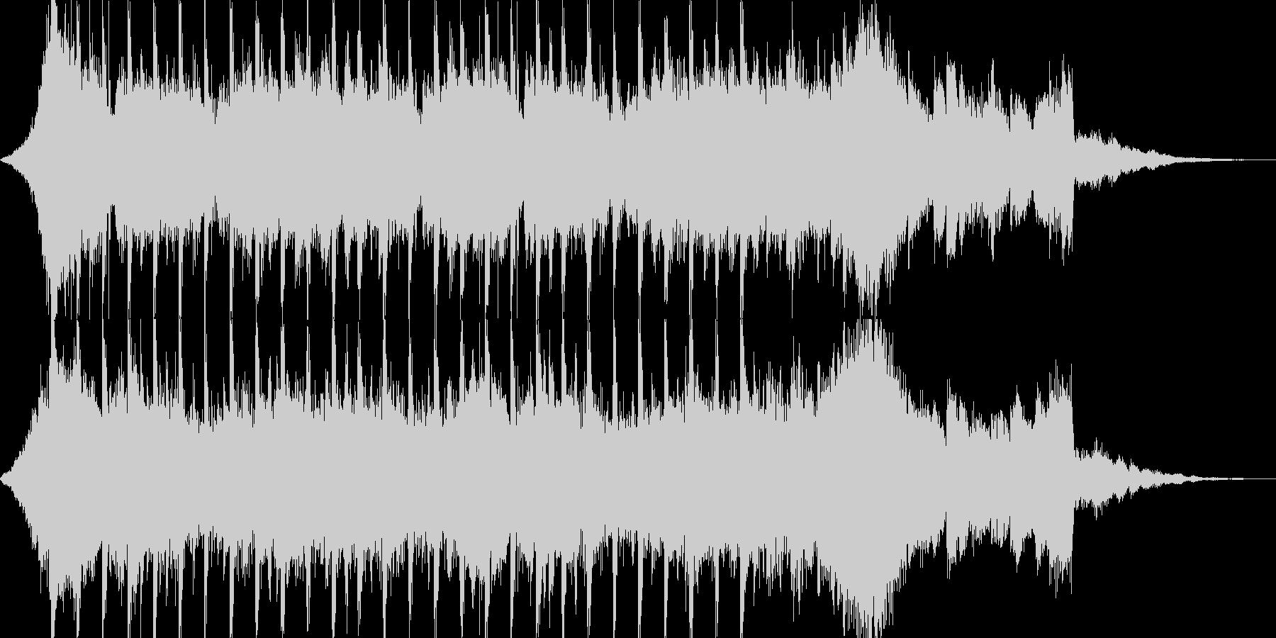 企業VP系45、爽やかギター4つ打ちcの未再生の波形