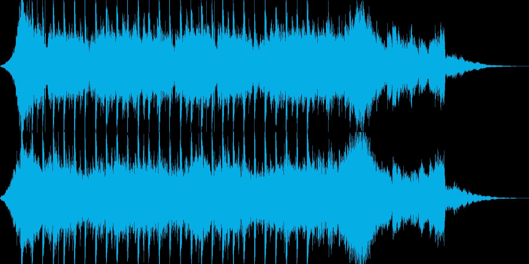 企業VP系45、爽やかギター4つ打ちcの再生済みの波形