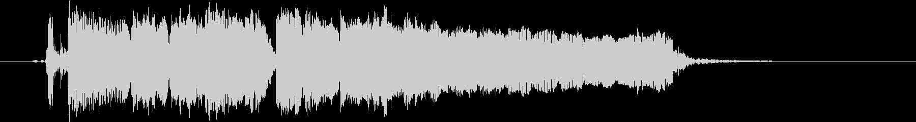 ギターフレーズ006の未再生の波形
