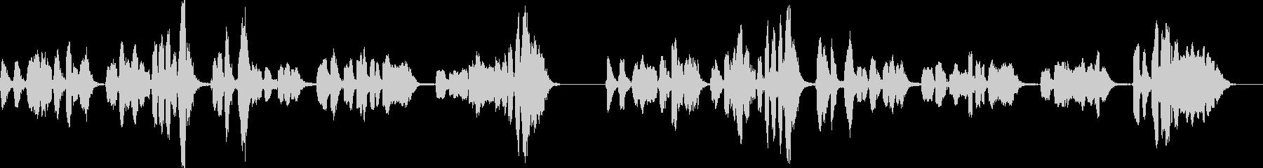 「小山の子うさぎ」アカペラ G#マイナーの未再生の波形