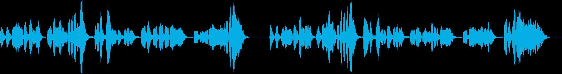 「小山の子うさぎ」アカペラ G#マイナーの再生済みの波形