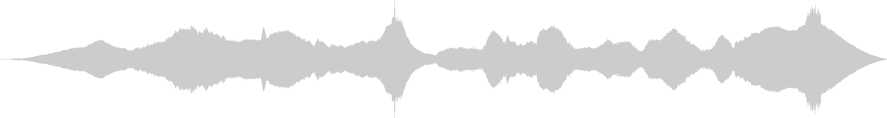 ASMR 電動マッサージ機を使うの未再生の波形
