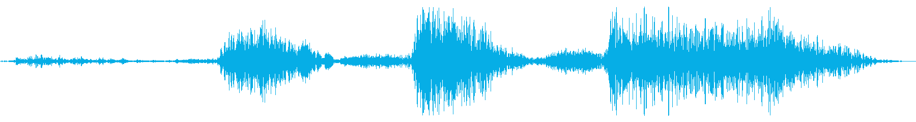 フライング ドラゴン モンスター 登場時の再生済みの波形