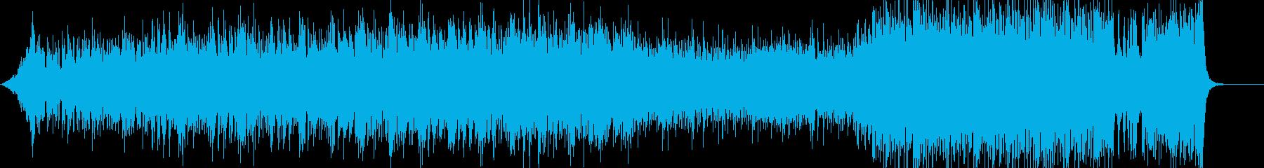 壮大&かっこいいインストストリングスの再生済みの波形