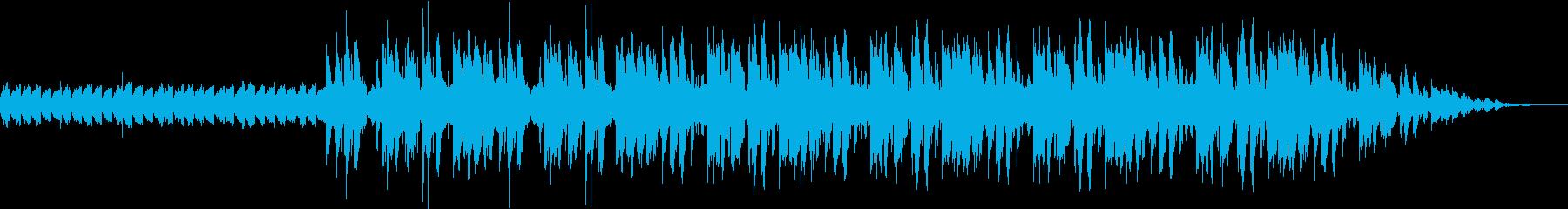 おしゃれなJazzHipohopの再生済みの波形