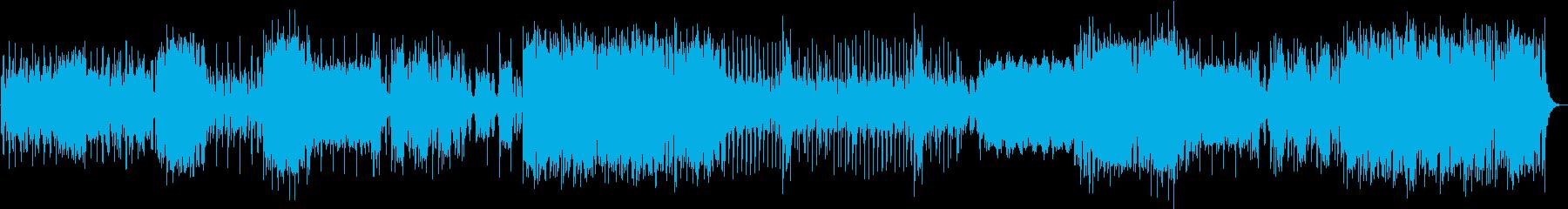 不思議な雰囲気の管弦曲の再生済みの波形