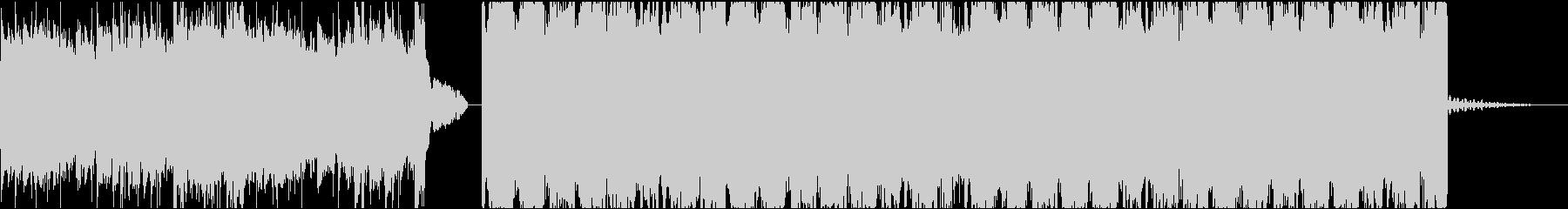 空間の広いピアノポップスの未再生の波形