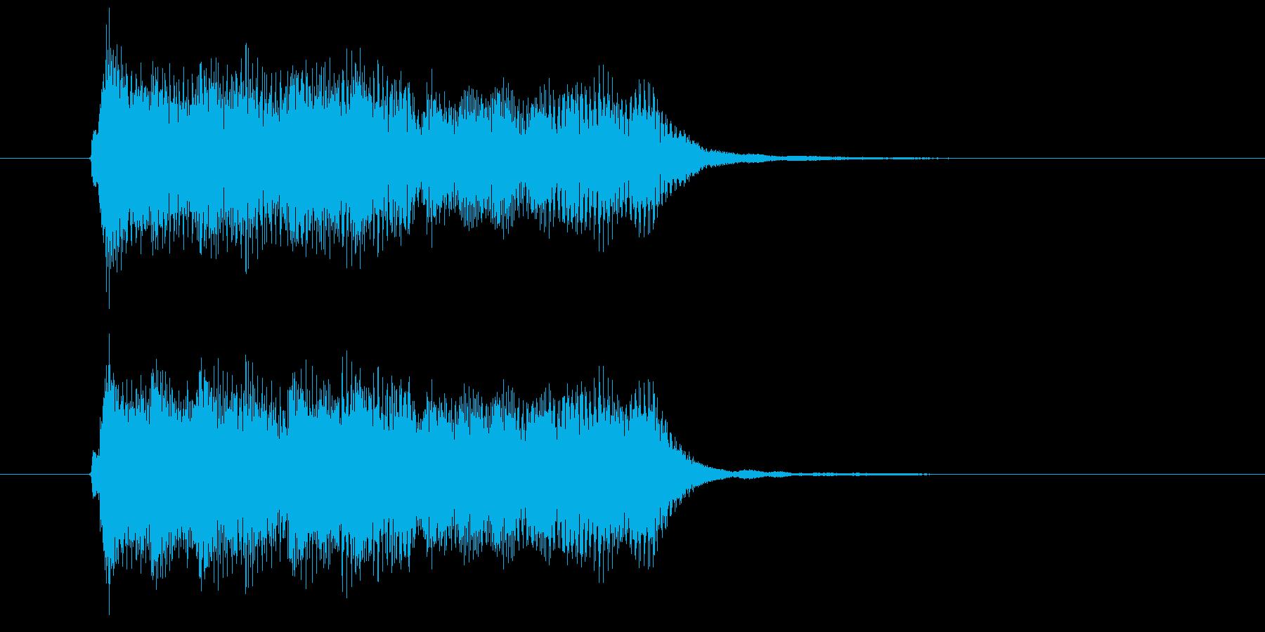 綺麗なフルートが印象的なBGMの再生済みの波形