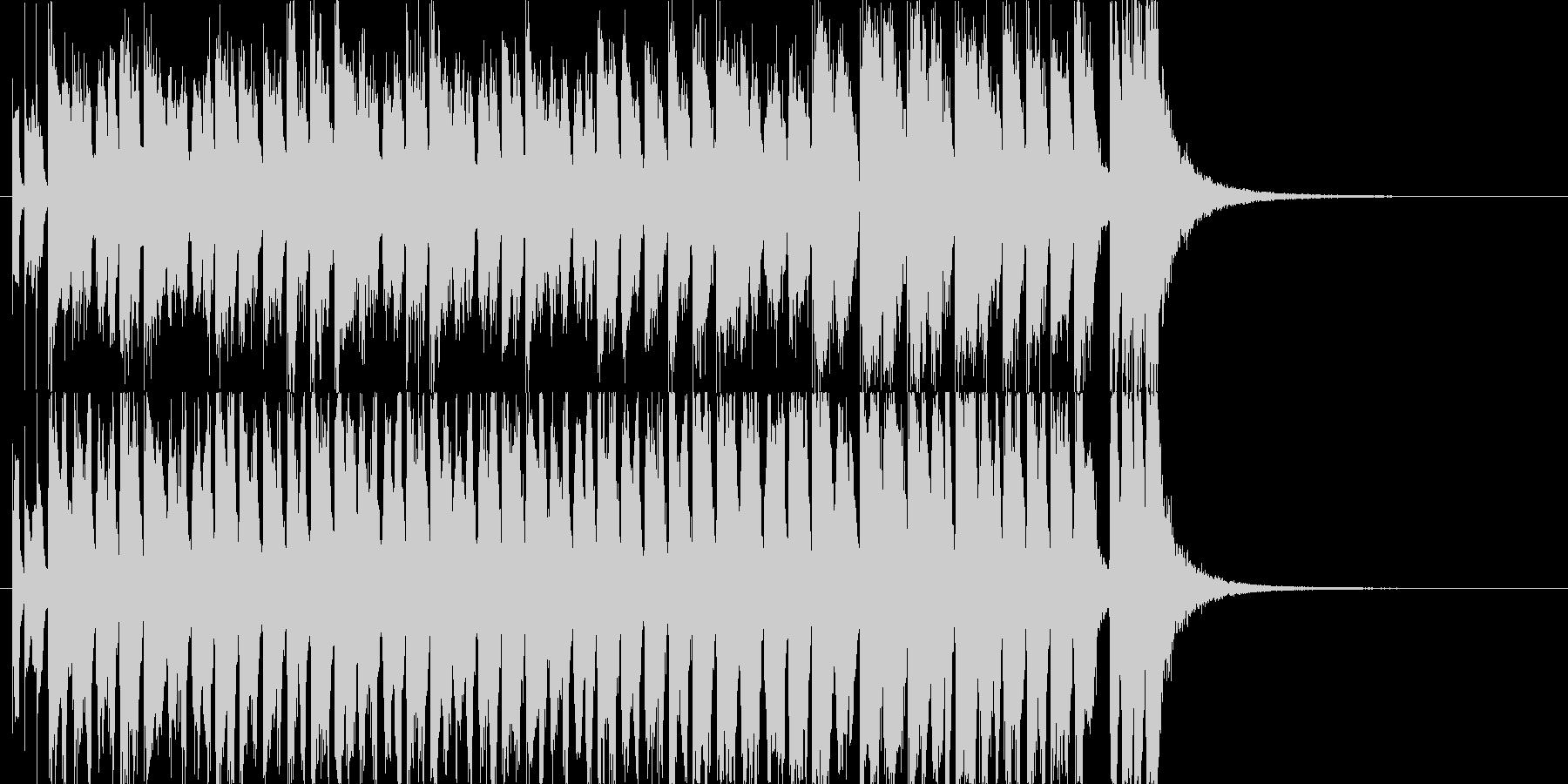2お菓子CMや小さい動物映像BGM B7の未再生の波形