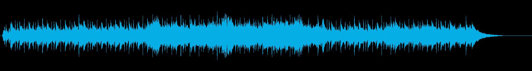 落ちついたカジュアルなポップバラードの再生済みの波形