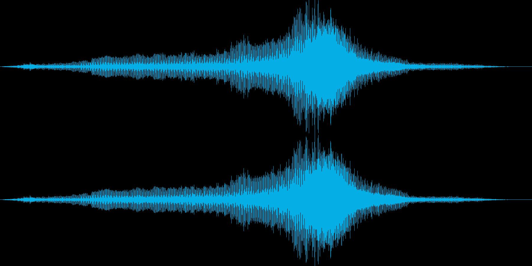 ヘリコプター_タイ_軍用ヘリ_03の再生済みの波形