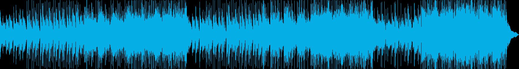 楽観的で前向きなエキサイティングメロディの再生済みの波形