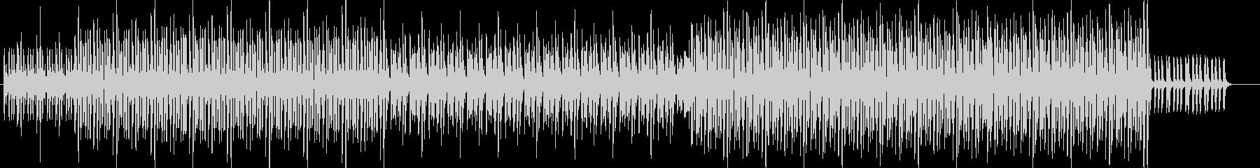 シンプルなピアノ入り90年代ハウスの未再生の波形