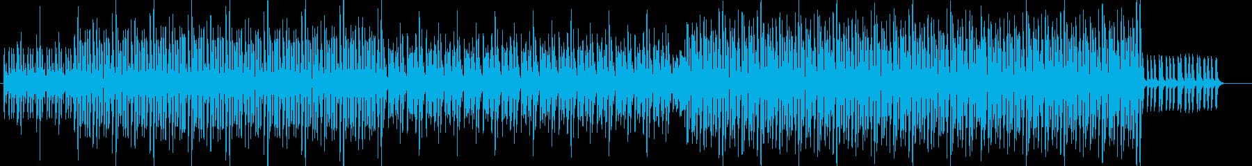 シンプルなピアノ入り90年代ハウスの再生済みの波形