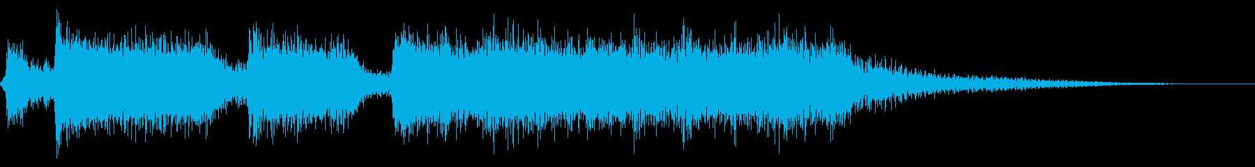 ファンファーレ・ブラス・歓喜・豪華・6秒の再生済みの波形