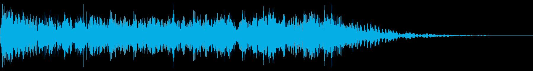 YouTube尺八による和風ジングル03の再生済みの波形