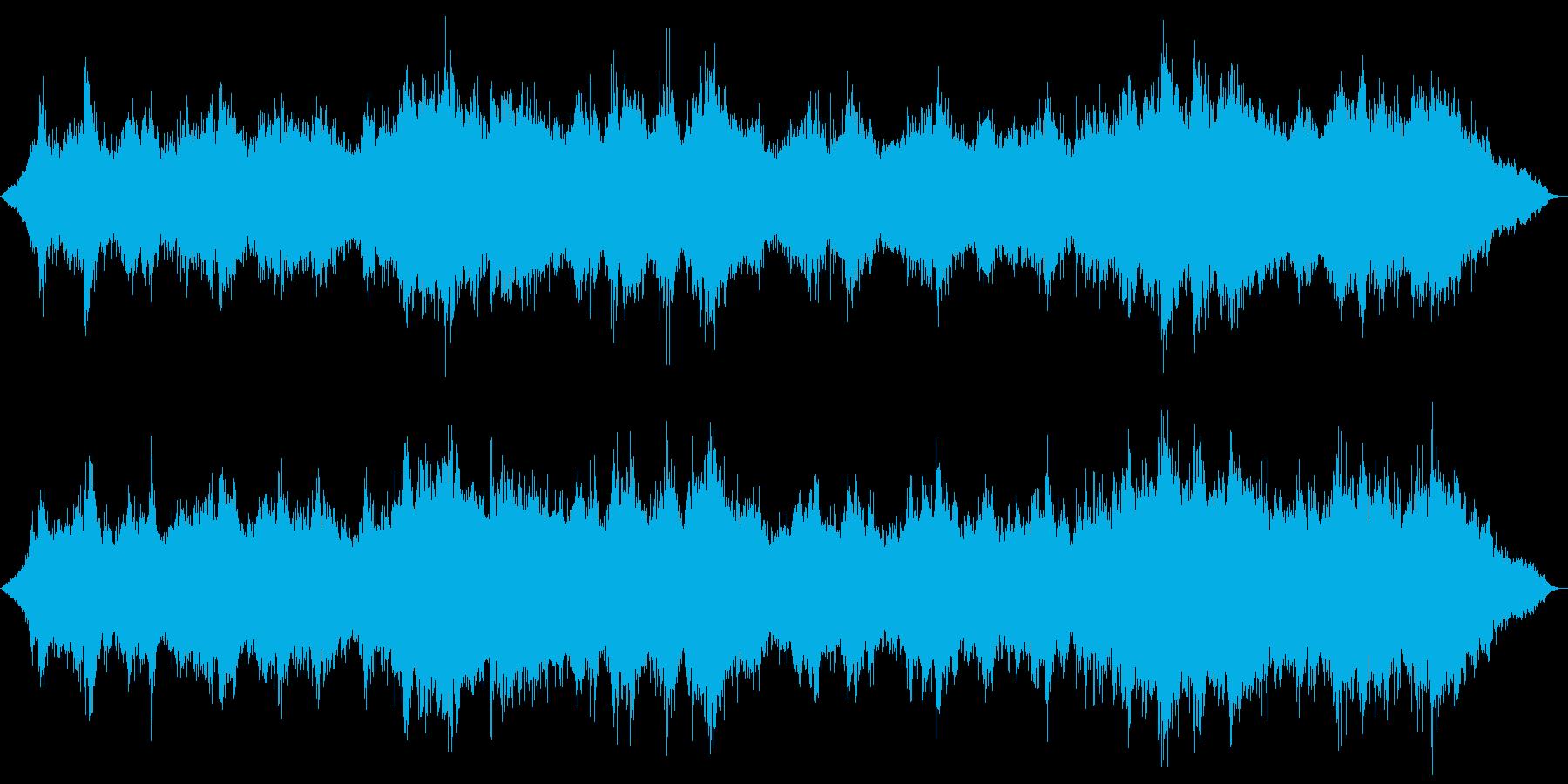 ピアノの幻想的なヒーリングサウンドの再生済みの波形