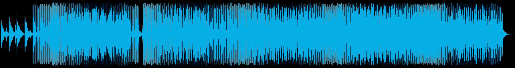 夜の街を描写したNU Jazzの再生済みの波形