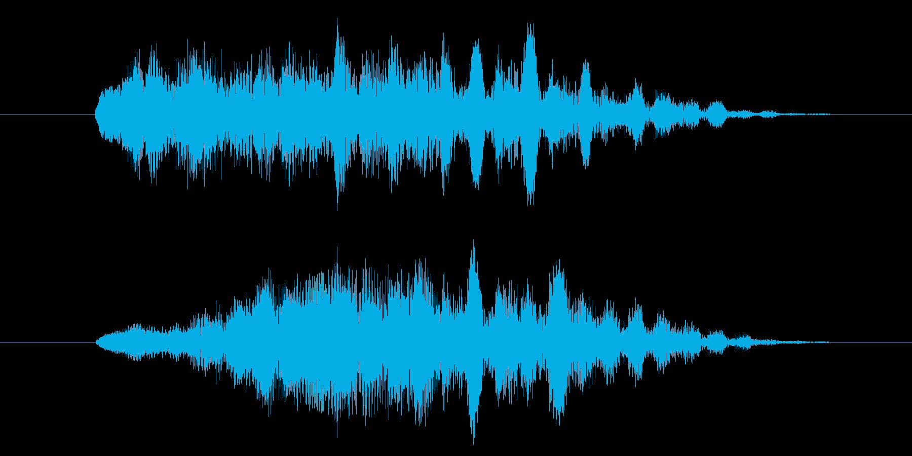 サウンドロゴ、ジングルです。webサイ…の再生済みの波形