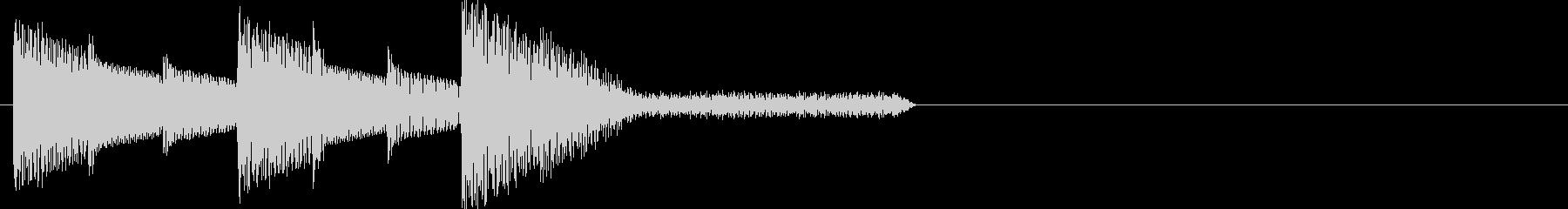 レトロゲーム風・スタート#3の未再生の波形