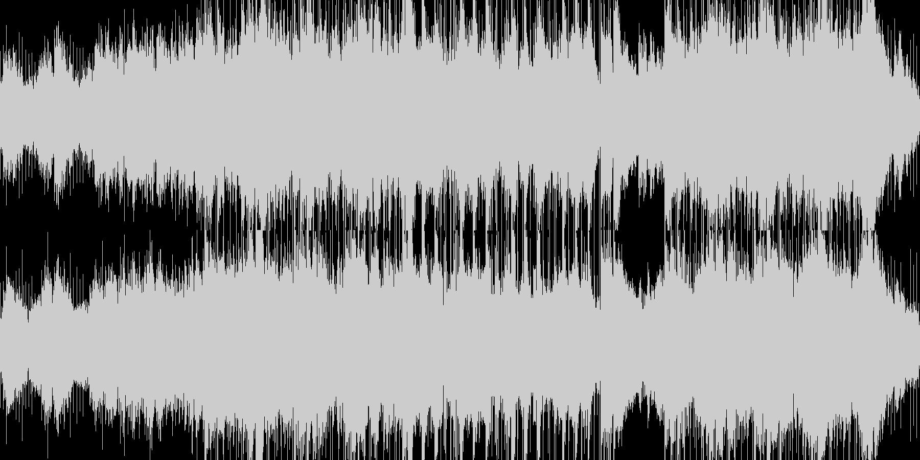 【ループ】不安や悲しみを演出するBGMの未再生の波形