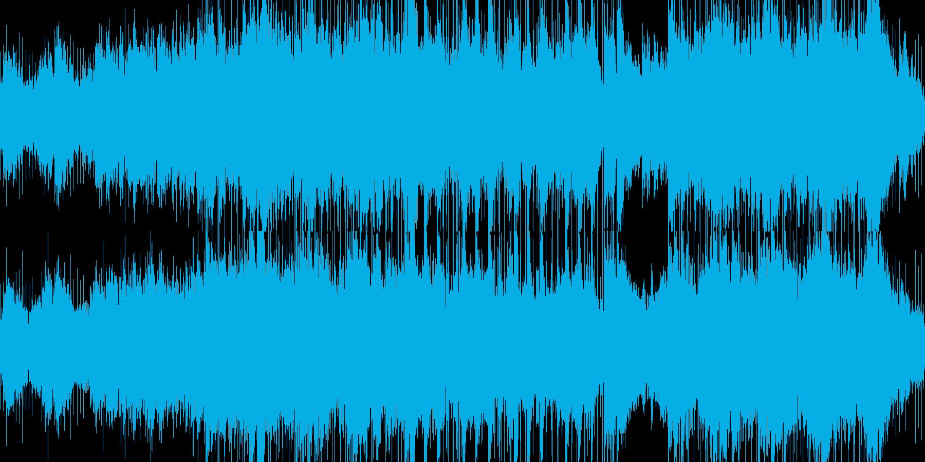 【ループ】不安や悲しみを演出するBGMの再生済みの波形