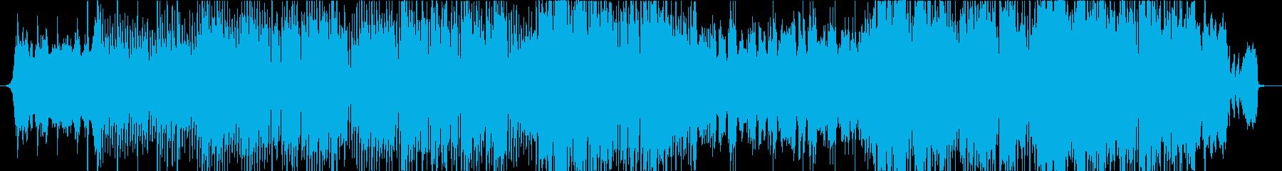 弦楽器を主体とした女性ボーカル曲の再生済みの波形