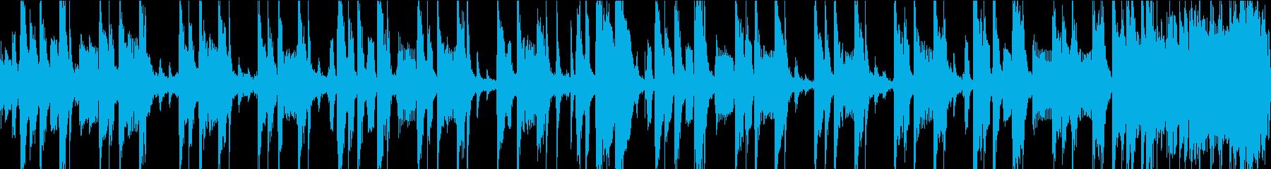 レゲエトラック、伝統的なレゲエリズ...の再生済みの波形