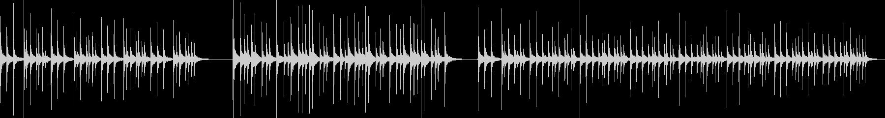 ドラム、トム、ジャングルリズム、3...の未再生の波形
