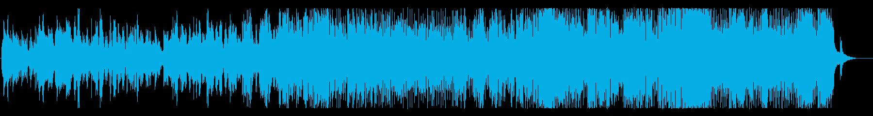 琉球の涙の再生済みの波形