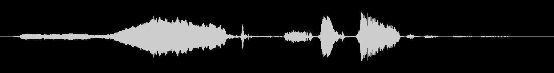 ロバ ブレイスロー01の未再生の波形