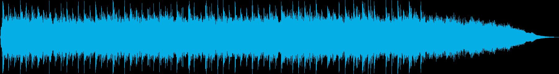 躍動感のあるロックポップなジングルの再生済みの波形