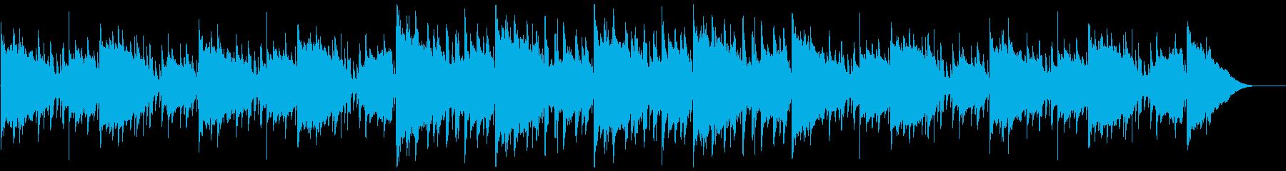 エンディング・リラックス・チルアウトの再生済みの波形