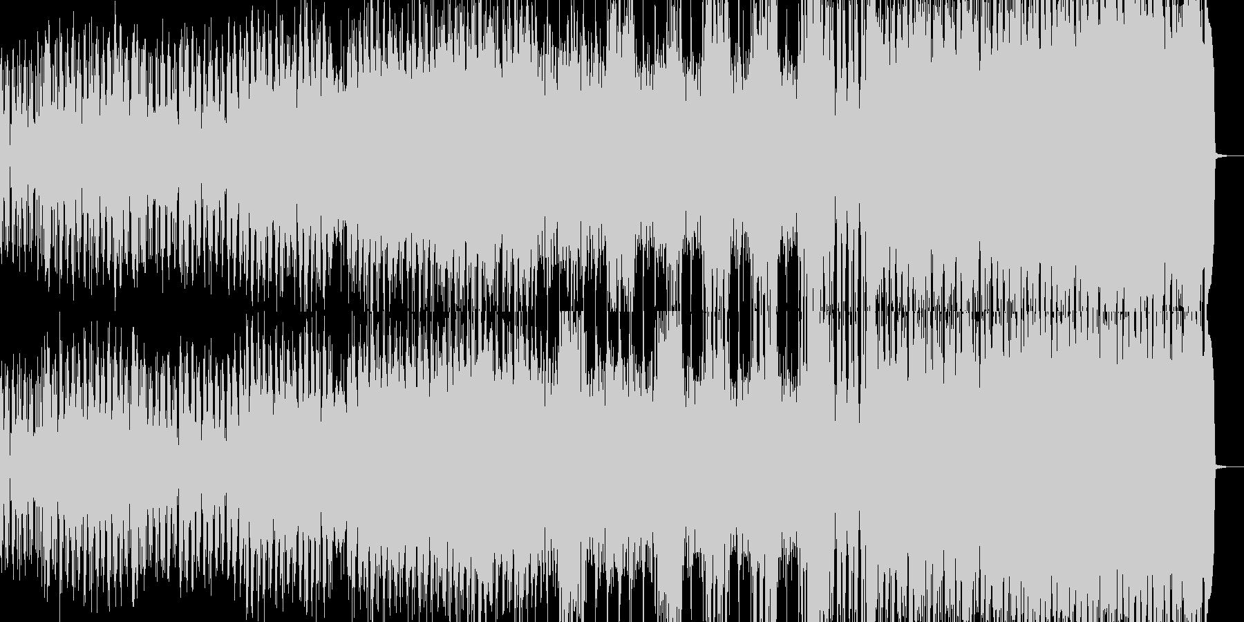 力強いバトルイメージの曲ですの未再生の波形
