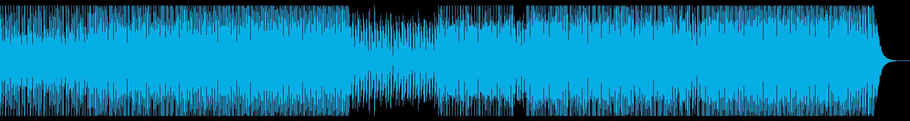 ハッピージョイフルの再生済みの波形