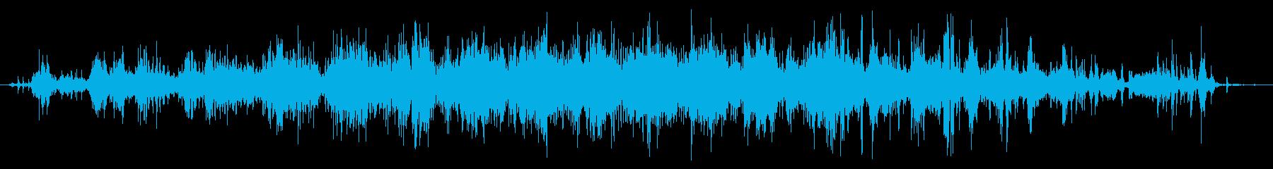 手動回転ハンドル鉛筆削り:ロングシャープの再生済みの波形