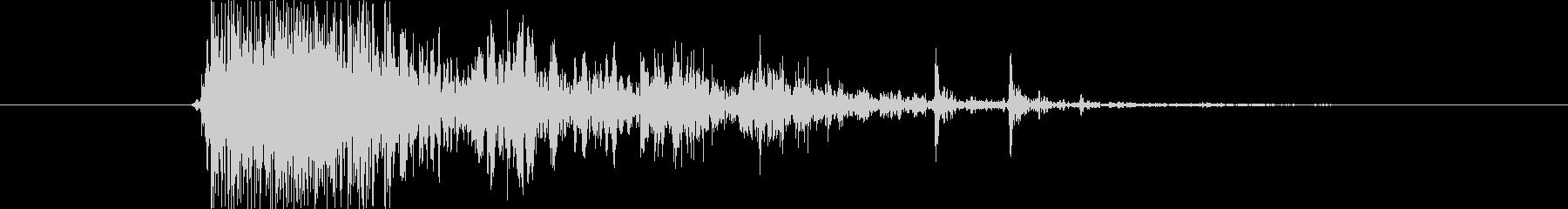 ブレーク ウッドスモール02の未再生の波形