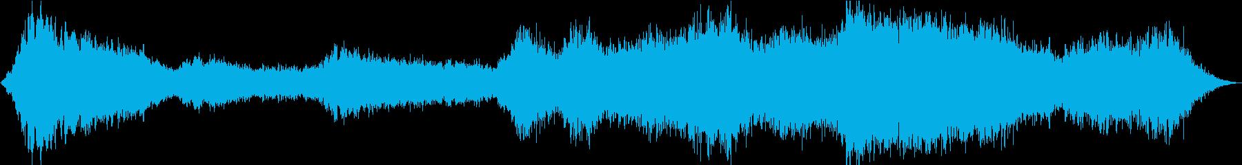 ドローン 魂のない洞窟01の再生済みの波形