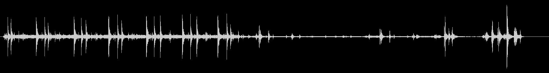 【生録音】家庭用プリンター02起動音の未再生の波形