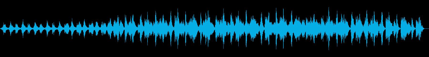 深い瞑想に入るためのギターアンビエントの再生済みの波形