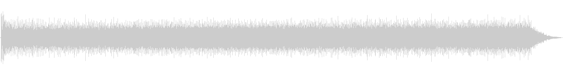 大型金属旋盤:開始、実行、停止の未再生の波形