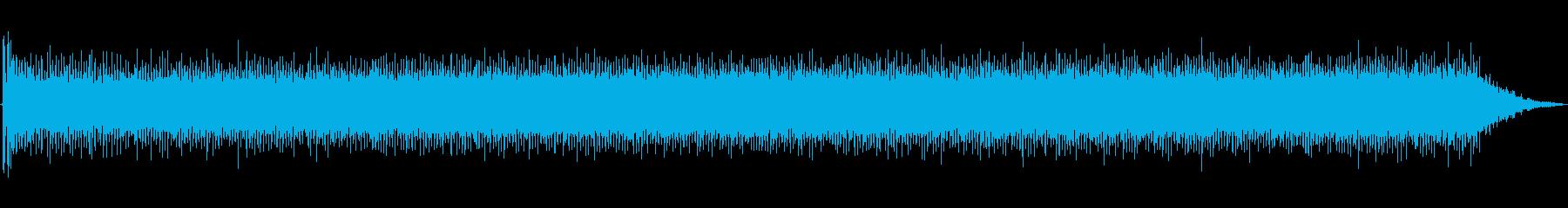 大型金属旋盤:開始、実行、停止の再生済みの波形