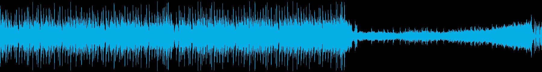 【ループ】クール/かっこいい洋楽ハウスの再生済みの波形