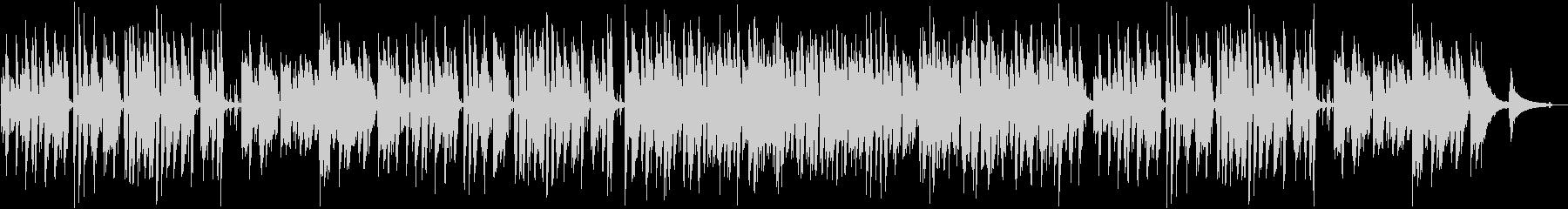 軽快ピアノトリオ 映像シーン ウキウキ感の未再生の波形