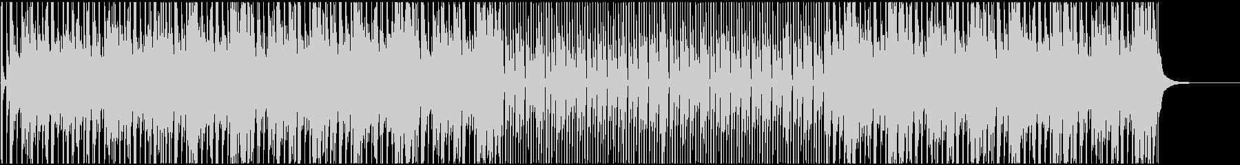 バンジョーが印象的な愉快で楽しいBGMの未再生の波形