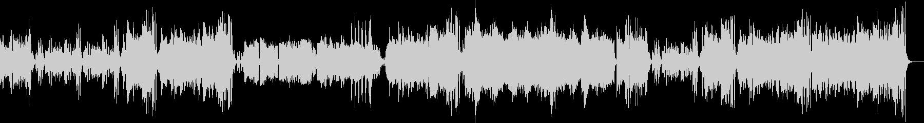 筋トレ・フィットネス用生演奏リコーダーの未再生の波形